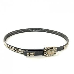 Hot Topic Studded Belt w/ Western Agate Buckle